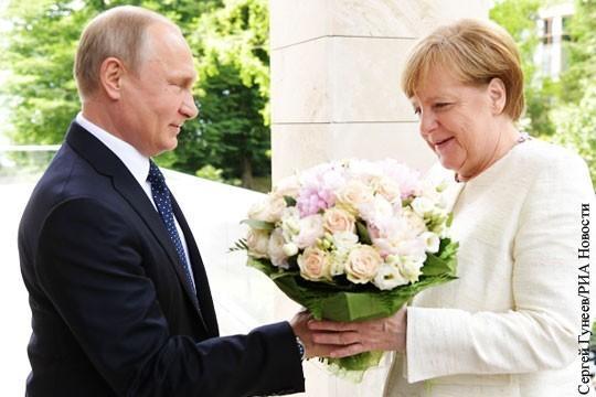 Отказ от Северного потока-2 для Ангелы Меркель равноценно политическому самоубийству