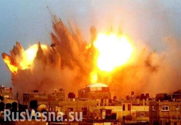 Страшный взрыв: Какрусский «Змей Горыныч» сжигает боевиков наюгеДамаска (ВИДЕО) | Русская весна