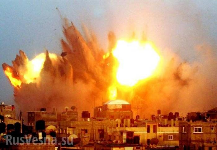 Сирия: какрусский «Змей Горыныч» сжигает наёмников США наюгеДамаска
