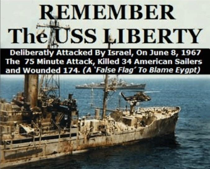 Власти США покрывают евреев, цинично расстрелявших американский корабль Liberty
