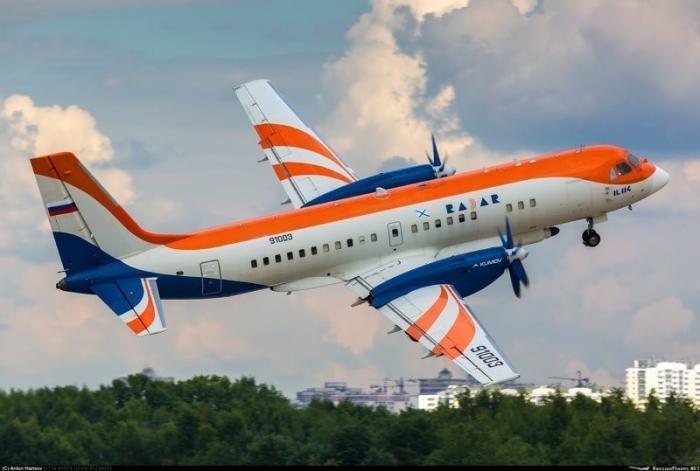 Сейчас строится в России: Ил-114 – российский пассажирский самолёт