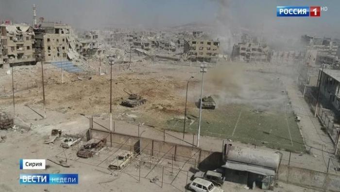 Сирия. До освобождения юга Дамаска от американских наёмников осталось недолго