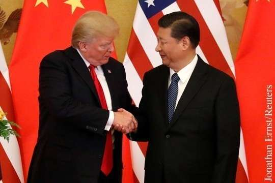 Дональд Трамп пытается заставить Китай капитулировать