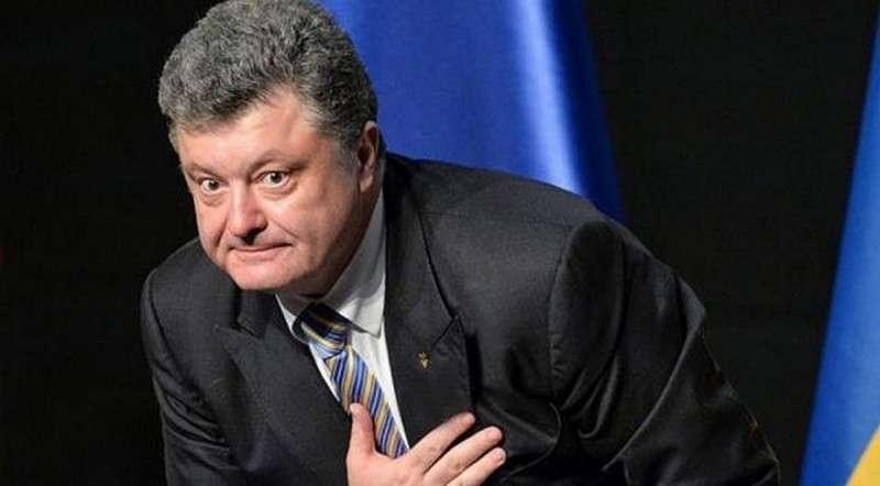 Укро-Петька дурачок опять пытается подать голос