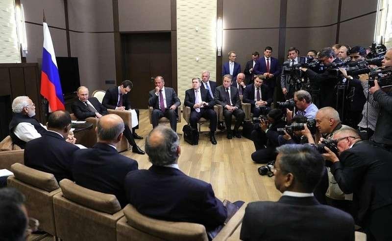 Встреча сПремьер-министром Индии Нарендрой Моди.