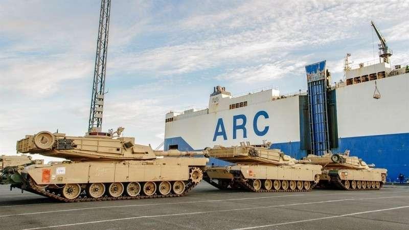 США перебрасывают в Восточную Европу бронетанковые войска