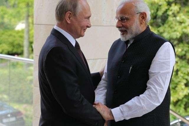Сергей Лавров рассказал, о чём договорились Владимир Путин и Нарендра Моди