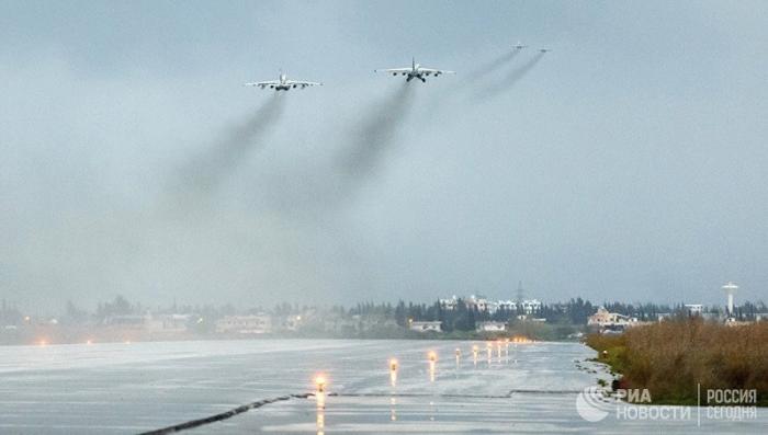 ПВО авиабазы Хмеймим сбила вражеский беспилотник