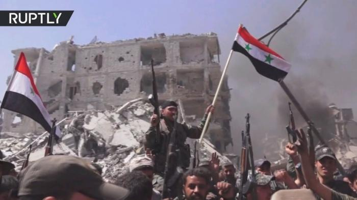 Сирийская армия ликвидировала последний оплот американских наёмников в Дамаске