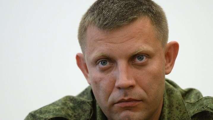 Захарченко: в Донецкой республике украинских выборов не будет, никаких