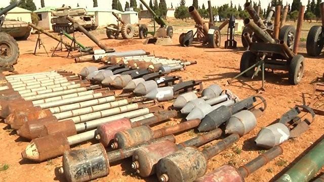 След Запада в сирийском Хомсе: боеприпасы, наёмники и методы разведки