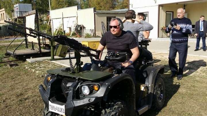 Рогозин: Спецназу понравились новые русские боевые квадроциклы