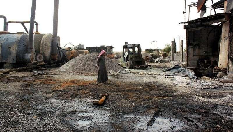 Сирия обвинила коалицию бандитов США в намеренном обстреле нефтяных месторождений