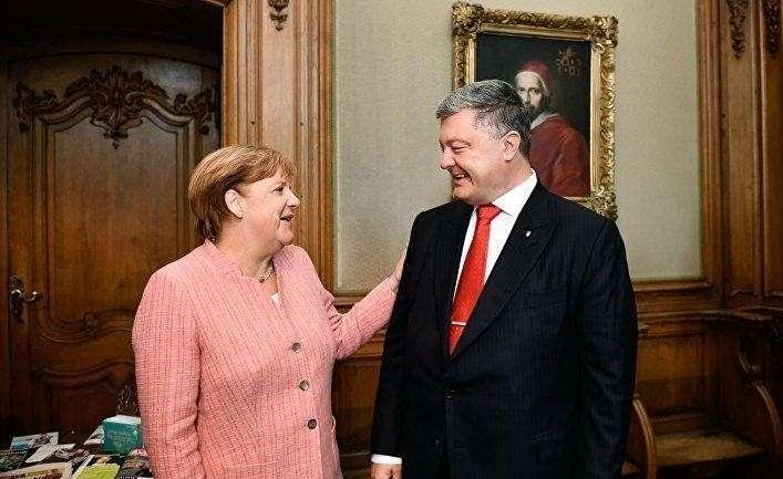 Глобалисты договариваются с Россией об Украине без Украины. Порошенко круглый ноль