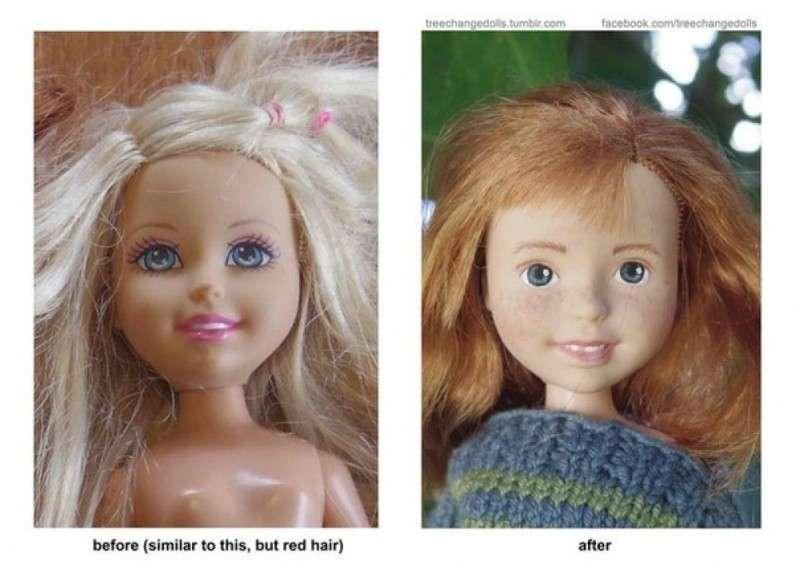 Одна мама, насмотревшись на пошлых современных кукол, не выдержала и вот что вышло
