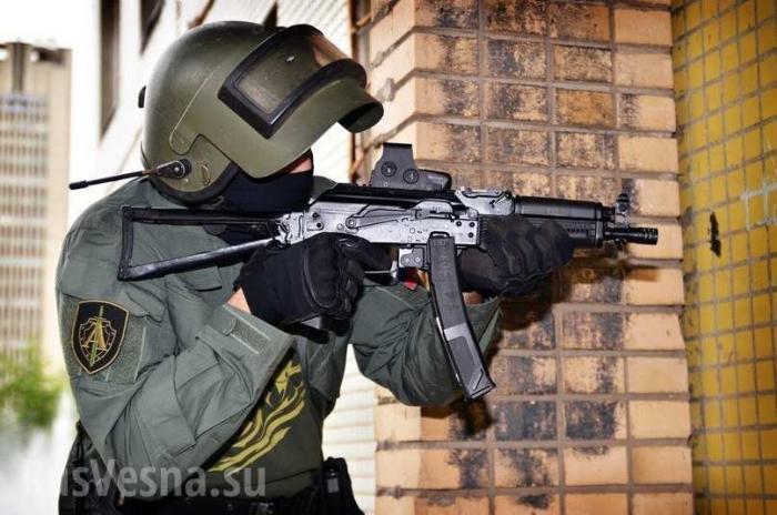 Калашников показал испытания пистолета-пулемёта Витязь