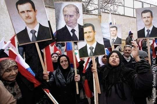 Освобождение Сирии принесло России побочный внешнеполитический бонус