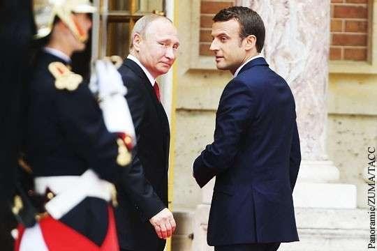 Владимир Путин будет подталкивать Макрона к суверенитету Франции и Европы