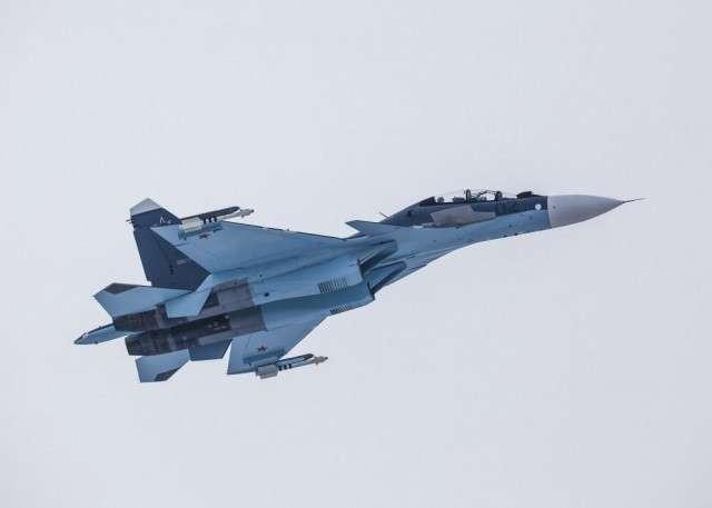 Россия поставит Казахстану новую партию истребителей Су-30СМ