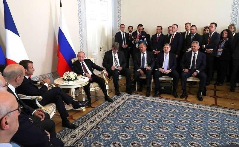 Российско-французские переговоры в Петербурге.