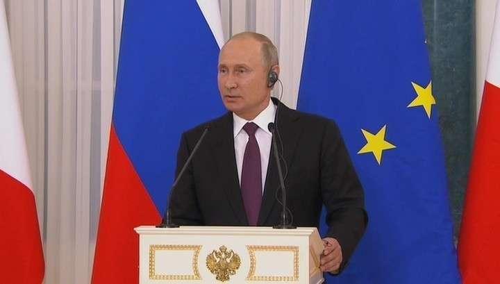 Владимир Путин журналисту: в чем разница между русским и украинским журналистом?