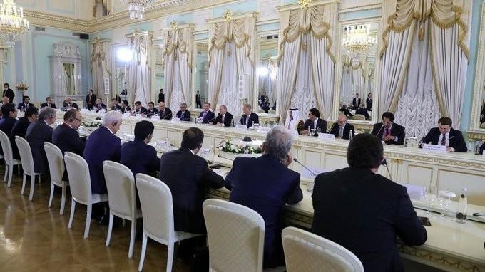 Встреча Владимира Путина счленами экспертного совета Российского фонда прямых инвестиций