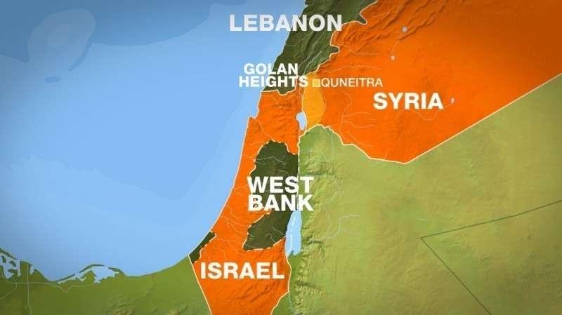 Террористический Израиль – страна без официально признанных границ