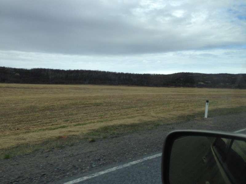 Совхозные поля в Долине Славы