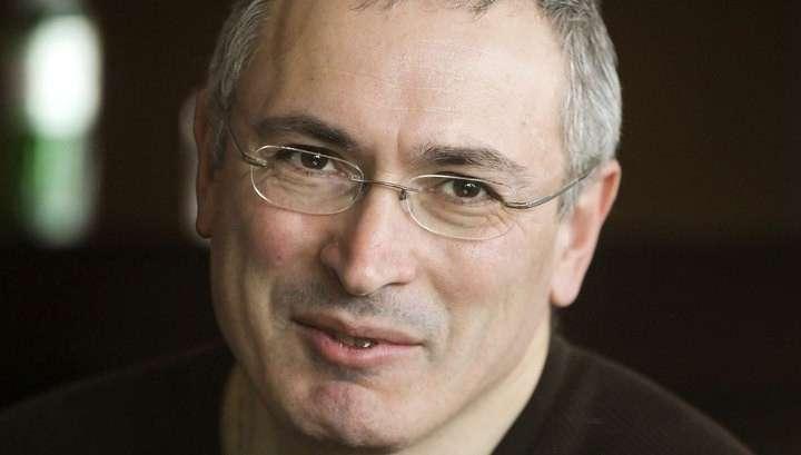 Вор Ходорковский опять хочет стать президентом РФ