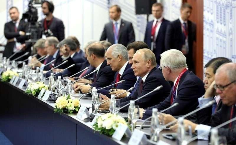 Встреча сруководителями иностранных компаний.