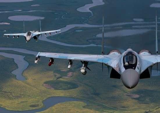 Экипажи ВВС и расчеты ПВО Восточного военного округа успешно отразили массированный ракетно-авиационный удар в рамках СКШУ «Восток-2014»