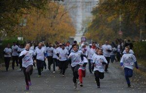 В «Кроссе нации» в Екатеринбурге приняли участие военнослужащие и воспитанники детдомов