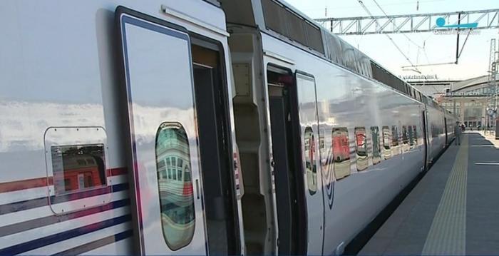 ВСанкт-Петербурге представили Финляндский вокзал искоростной поезд «Аллегро»