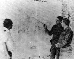 Советские советники, планирующие военные операции в Анголе. Начало 1980-х годов (фото: Public domain)