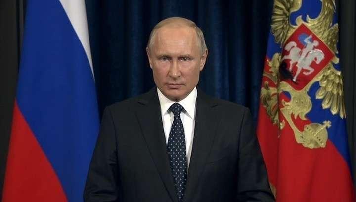 Владимир Путин поздравил Пограничную службу ФСБ со 100-летием