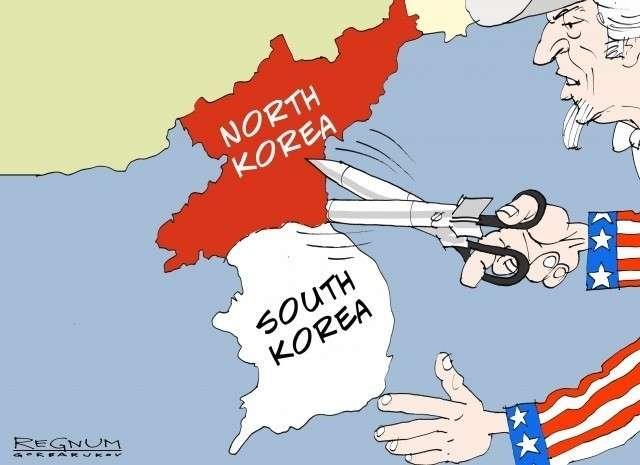 Объединение Северной и Южной Кореи совсем не вписывается в планы Пиндостана