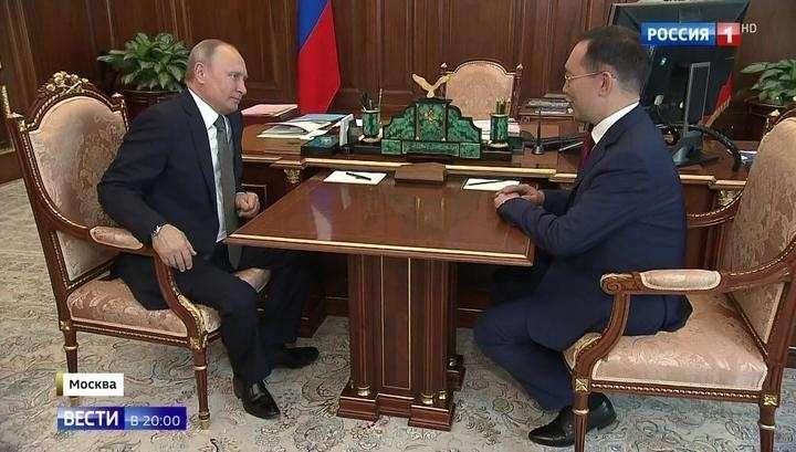 Владимир Путин сменил руководителей Якутии и Колымы