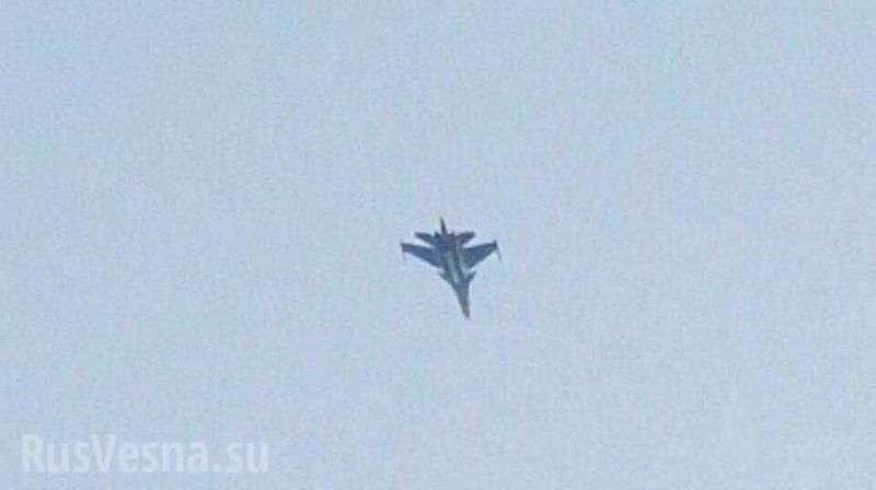 Истребители ВКС РФ впервые перехватили самолёты F-16 над Ливаном, — СМИ Израиля (ФОТО, ВИДЕО)