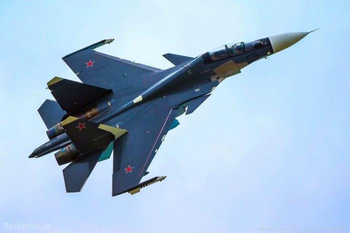 Истребители ВКС России впервые перехватили самолёты F-16 Израиля надЛиваном