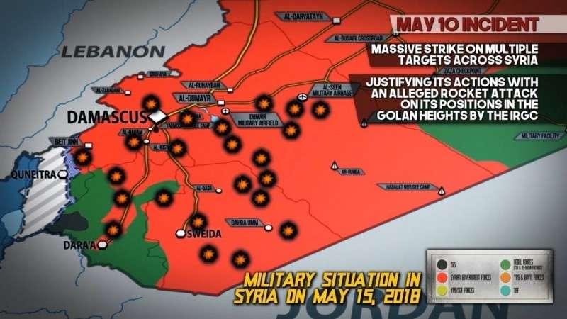 Почему США и Израиль бьёт по иранским формированиям в Сирии