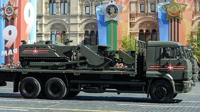 Новейшее российское вооружение, показанное на параде Победы, уже испытывается в бою