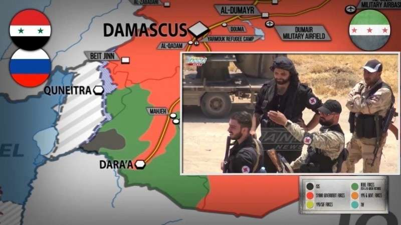 Сирия. Армия стягивает войска на юг для грандиозного наступления на наёмников Израиля