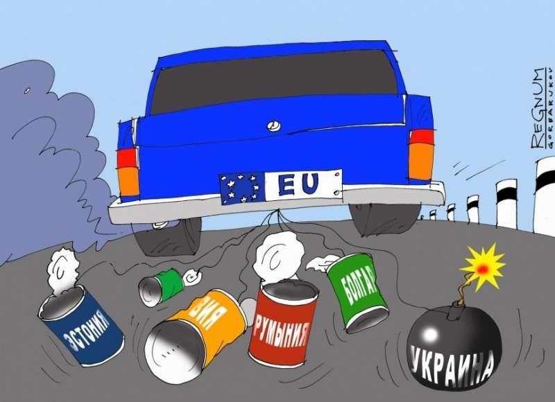 Евросоюз решил поставить крест на политических амбициях Восточной Европы