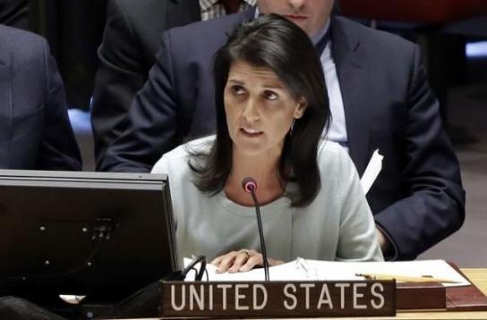 Никки Хейли проговорилась, что США никогда не снимут санкции с России
