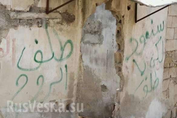 Сирия: бандиты побросали схроны из-за прихода армии России | Русская весна