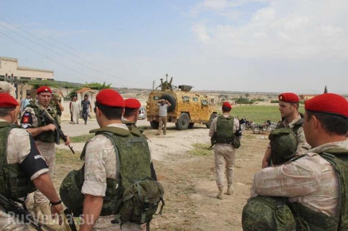 Русская армия на освобождённых территориях: как их встретили бедуины?