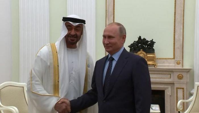 Россия и ОАЭ договорились о сотрудничестве в сферах антитеррора и мирного атома