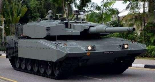 Новейшие германские танки «Леопард 2» до смерти боятся старых российских РПГ-7