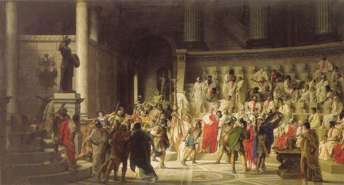 Роль элиты в системе власти на примере Римской Империи