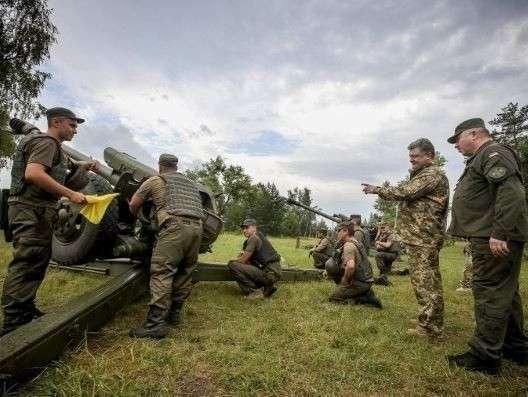 Агрессия киевских карателей против Донбасса оплачивается из бюджета НАТО